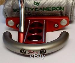 2003 Limited Edition Scotty Cameron Holiday Futura Mallet Putter + Head Cover
