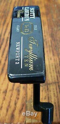 2007 SCOTTY CAMERON Teryllium Ten Putter T10 Newport 2 Sole Stamp 34 Custom Shop