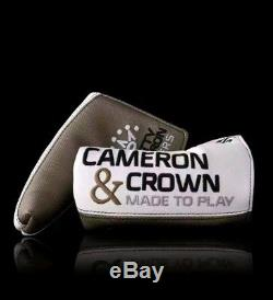 Brand NEW Scotty Cameron Newport 2 Cameron And Crown 33 Putter, With Headcover