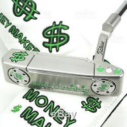 CUSTOM 2018 Scotty Cameron NEWPORT 2 Putter MONEY MAKER Cash Edition Putter