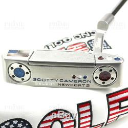 CUSTOM 2018 Scotty Cameron Putter NEWPORT 2 USA GOLF Edition Putter