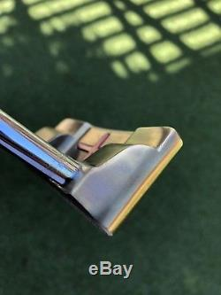 Custom Bronze Scotty Cameron Squareback Square Back Select putter 34