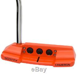 Custom Orange Scotty Cameron Select Newport 2 Notchback Putter