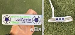 Custom Refinished Scotty Cameron California Monterey 33.5 inch putter withhdcover