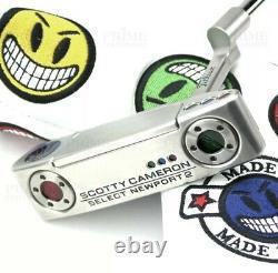 Custom Scotty Cameron 2018 Newport 2 Joker Smile Edition Golf Putter