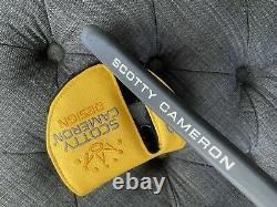 Custom Scotty Cameron Phantom X 11.5 2021 Titleist W Headcover Circle H 370g