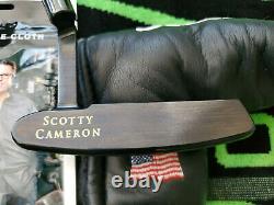 LH Scotty Cameron Newport Gun Blue Putter 35 Left Handed MINT All Original