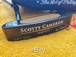 LH Scotty Cameron Titleist Teryllium Te I3 Newport Putter Left Hand 35 MINT