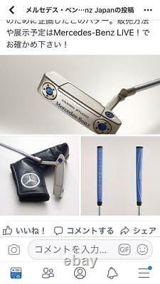 Mercedes Benz x Scotty Cameron Collaboration Golf Putter 300 Limited Rare