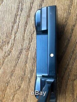 Mint LH 009 Scotty Cameron Circle T 34in 350g Brush Black Smoke Shaft Hdcvr COA