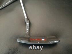 NEW! Custom Scotty Cameron Studio Stainless Newport 2 33 350g Black Matte