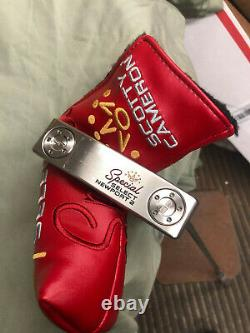 NEW Scotty Cameron SPECIAL SELECT NEWPORT 2 Putter 35
