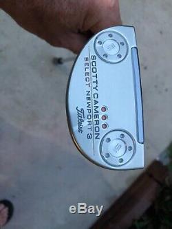 NEW TITIEIST SCOTTY CAMERON Select Newport 3 Putter 34 LH