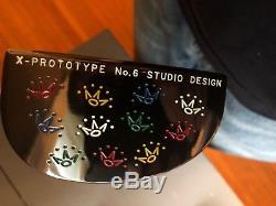 NEW! Titleist Scotty Cameron Studio Design X-Prototype No. 6 Putter RARE