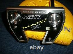 New 2021 Scotty Cameron Phantom X 5 35 Long With Headcover