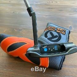 New Flawless Scotty Cameron Scotydale 009M Long Beach 34 350G Black Tour Rat