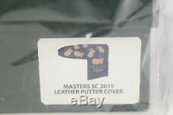 New Limited Edition Masters Scotty Cameron 2019 Leather Putter Cover Navy