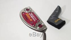 New! SCOTTY CAMERON 2014 GOLO #3 PUTTER 34 with HEADCOVER
