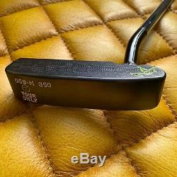 New Scotty Cameron 009M in Brushed Black Welded 1.5 Round Neck 34 350g A-042808