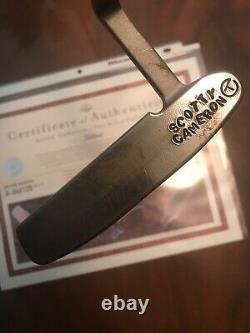 New Scotty Cameron 009 Circle T Raw Pro Platinum Naked 350g Titleist 34.25 COA