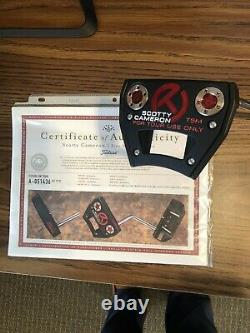 New Scotty Cameron Futura T5M Circle T Tour Only Putter