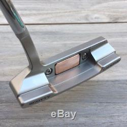 New Scotty Cameron Newport 2.5 TeI3 Copper Insert Detour Button Back Clone