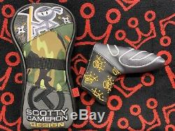New Scotty Cameron Patchwork Driver and Putter Regal CT Wasabi Camo