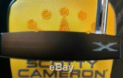 New Scotty Cameron Phantom X 12 34-inch Putter & Cover Titleist