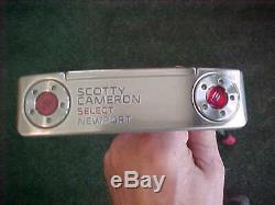 New Scotty Cameron Select Newport 34 Inch Putter & Cover Titleist 2016
