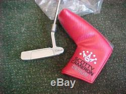 New Scotty Cameron Select Newport 35 Inch Putter & Cover Titleist 2016