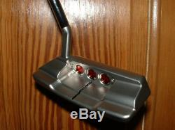 New Scotty Cameron Select Squareback 1.5 Putter. Right Hand, 35 withHeadcover