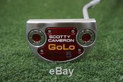 New Titleist Scotty Cameron Select Series 2014 Golo 5 35 Putter 00659604