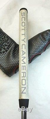Polished Scotty Cameron California Del Mar Putter + Head Cover