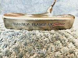 RARE Titleist Scotty Cameron Bullseye Flange Putter, 35 Steel Shaft