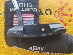 Rare Scotty Cameron Newport Beach 1.5 Custom Shop Black Putter 35 NEW STUNNING