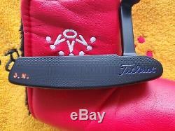 Rare Scotty Cameron Newport Beach SS Custom Shop Black Putter 34.5 MINT