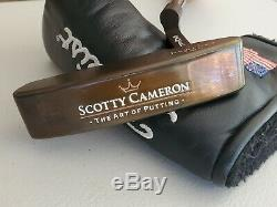 Rare Scotty Cameron Newport Two Oil Can The Art Of Putting Putter MINT