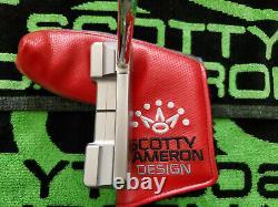 Rare Scotty Cameron Select Newport 2 Notchback 1/500 Putter 34 Mint