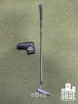 Refinished Left Handed Scotty Cameron Classics Newport 35 putter withheadcover