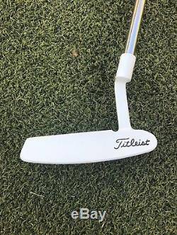 Refinished Scotty Cameron Studio Stainless Newport Beach 33.25 putter withhdcvr