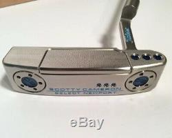 SCOTTY CAMERON 2018 SELECT NEWPORT PUTTER 33 Inches Custom Shop Blue