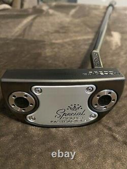 SCOTTY CAMERON CUSTOM BLACKOUT SPECIAL SELECT FASTBACK 1.5 PUTTER R/H 34.5 WithHC