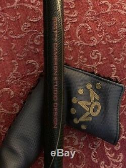 SCOTTY CAMERON LAGUNA SELECT MILLED PUTTER 34 With HEAD COVER