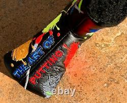 SCOTTY CAMERON Super RARE Gallery The PAINTERS PALETTE Putter Headcover