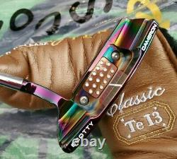 SCOTTY CAMERON TERYLLIUM TEN T10 NEWPORT 2.5 TeI3 LTD PUTTER 34 SOLE STAMP
