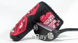 SCOTTY CAMERON TOUR CONCEPT 3 BLACK 340G CIRCLE-T PUTTER with HEADCOVER