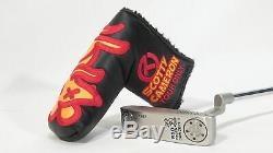 SCOTTY CAMERON TOUR RAT R&D PROTO CONCEPT 1 350G CIRCLE-T PUTTER with HEADCOVER