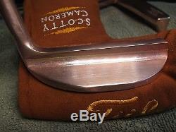 Scotty Cameron 1996 Copper Napa Putter New 1 Of 500 Special Issue