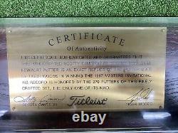 Scotty Cameron 1997 Masters Tiger Woods Teryllium Putter