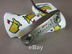 Scotty Cameron 2014 Augusta Masters Newport 2 Notchback Putter Limited Edition